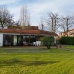 Clubhaus mit Anker - Monasteria Yachtclub Münster