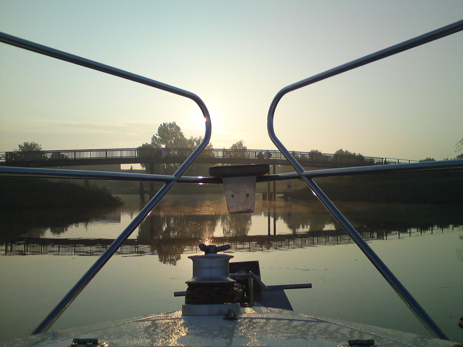 Dortmund-Ems-Kanal - Monasteria Yachtclub Münster