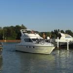 Einfahrt Hafen Monasteria Yachtclub Münster