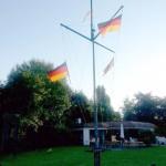 Flaggen Mast - Monasteria Yachtclub