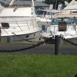 Liegeplatz im Hafen des Monasteria Yachtclubs Münster